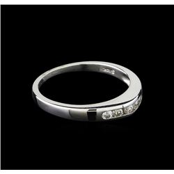 0.15 ctw Diamond Ring - 14KT White Gold