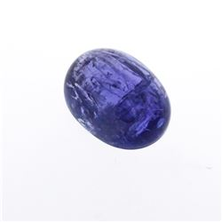 24.21 ctw. One Oval Cabochon Cut Tanzanite