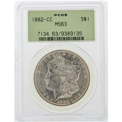 1882-CC PCGS MS63 $1 Morgan Silver Dollar