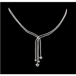3.00 ctw Diamond Necklace - 14KT White Gold