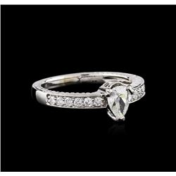 14KT White Gold .74 ctw Diamond Ring