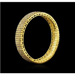 10.54 ctw Diamond Bracelet - 14KT Yellow Gold