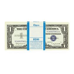 Original 1957B $1 Silver Certificate Pack of 100