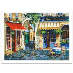 Cafe in Provence by Metlan, Anatoly