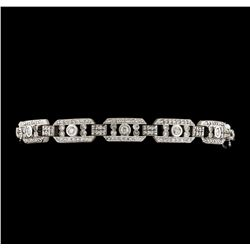 3.00 ctw Diamond Bracelet - 14KT White Gold