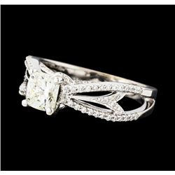 1.25 ctw Diamond Ring - 18KT White Gold