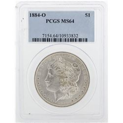 1884-O PCGS MS64 Morgan Silver Dollar