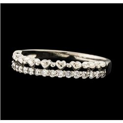 0.25 ctw Diamond Ring - 18KT White Gold