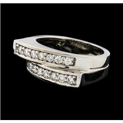 0.44 ctw Diamond Ring - 14KT White Gold