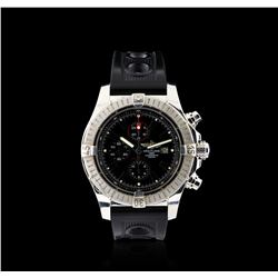 Breitling Stainless Steel Super Avenger Chronograph Watch