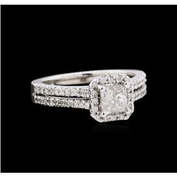 1.02 ctw Diamond Ring - 14KT White Gold
