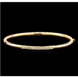 14KT Rose Gold 0.40 ctw Diamond Bracelet