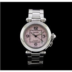 Cartier Stainless Steel Pasha C Watch