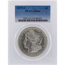 1879-S PCGS MS64 Morgan Silver Dollar