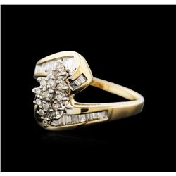 14KT Yellow Gold 0.85 ctw Diamond Ring