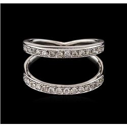 0.45 ctw Diamond Ring - 14KT White Gold