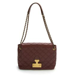 Marc Jacobs Large Single Chestnut Baroque Leather Bag
