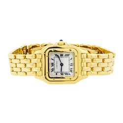 Cartier 18KT Yellow Gold Panthere Ladies Watch