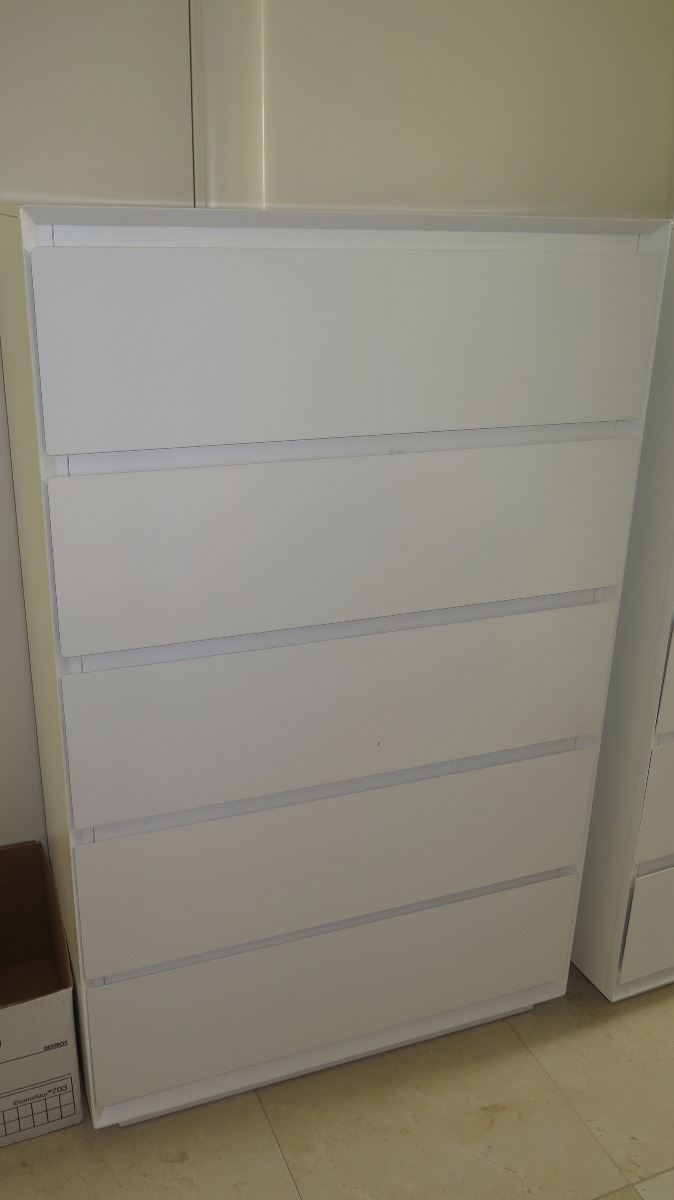 brown dresser drawers off set of chest white drawer