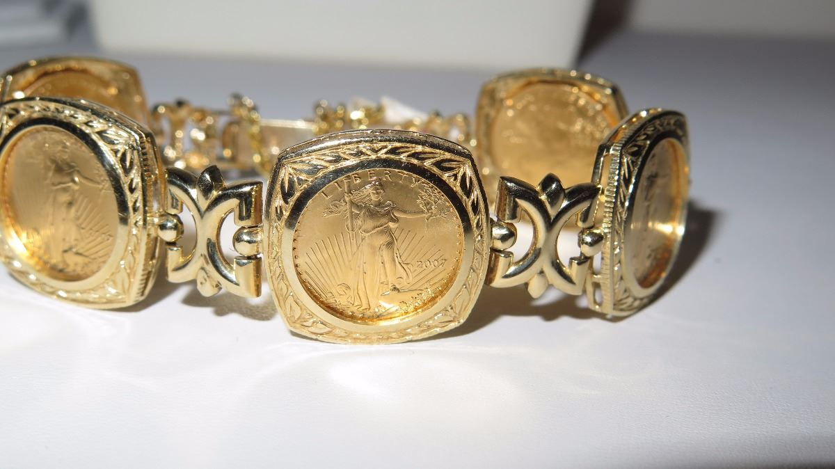 American Eagle Gold Coin Jewelry Style Guru Fashion