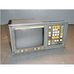 FANUC A02B-0091-C042 CRT/MDI Unit *Button Missing Labels SEE PICS*