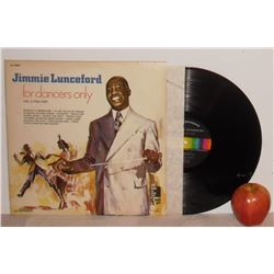 Jimmie Lunceford, for Dancers Only, vol 3 1936-1937 old original good LongPlay - 33rpm disque bon