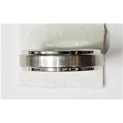 #13-TUNGSTEN CARBIDE MEN'S RING