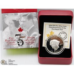 69) RCM 2014 $25 ULTRA-HIGH RELIEF FINE SILVER COIN