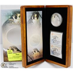 RCM LIMITED EDITION STAMP & COIN SET PEREGRINE