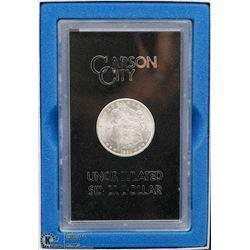 US CARSON UNCIRCULATED SILVER DOLLAR COIN
