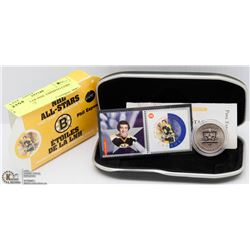 NHL ALL STAR PHIL ESPISITO COIN & STAMP SET