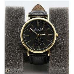 JING YI WATCH WITH BLACK STRAP