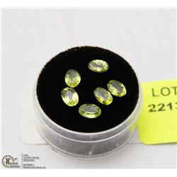 #66 NATURAL PERIDOT GEMSTONE 5CT