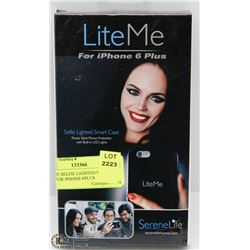 LITE ME SELFIE LIGHTED SMART CASE FOR IPHONE 6PLUS