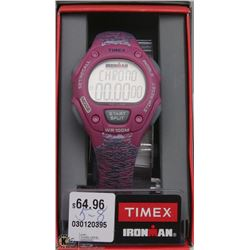 TIMEX IRONMAN WOMENS PINK/GREY WATCH