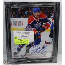 JUSTIN SCHULTZ  GUARANTEED AUTHENTIC AUTOGRAPH
