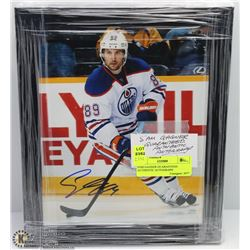SAM GAGNER GUARANTEED AUTHENTIC AUTOGRAPH