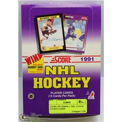 SCORE 1991 SERIES 2  NHL 15 PACK HOCKEY CARDS
