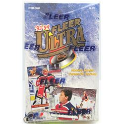 1993 - 94 FLEER ULTRA HOCKEY SEALED BOX SERIES 2