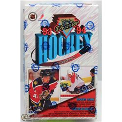 1993 94 O-PEE-CHEE HOCKEY FACTORY SEALED BOX