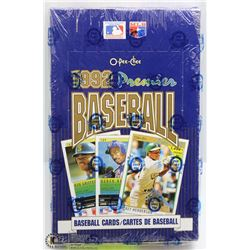 1992 O-PEE-CHEE BASEBALL FACTORY SEALED BOX