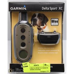 GARMIN DELTA SPORT XC REMOTE DOG TRAINING SYSTEM