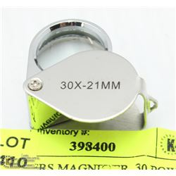 JEWELLERS MAGNIFIER  30 POWER