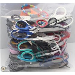 LARGE BAG OF ASSORTED SCISSORS