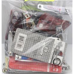 LARGE BAG OF ASSORTED NAIL CLIPPERS