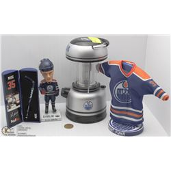OILERS COLLECTION REPLICA AUTOGRAPHED GRANT FUHR