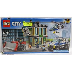 LEGO CITY BULLDOZER BREAK IN SET