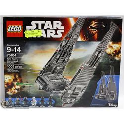 LEGO STAR WARS KYLO REN COMMAND SHUTTLE