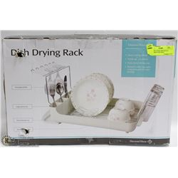 DIAMOND HOME DISH-DRYING RACK WIDE DEEP TRAY