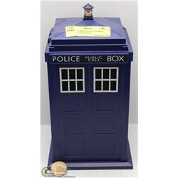 "DR. WHO TARDIS POLICE PUBLIC CALL BOX 10""H WITH"